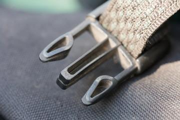 belt attachment close up