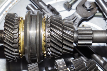 Parts of automotive gearbox
