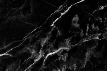 Black marble texture background, detailed structure of marble (high resolution), abstract texture background of marble in natural patterned for design.