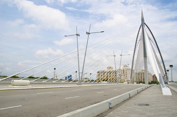 Seri Wawasan bridge at putrajaya