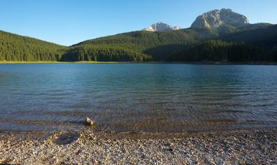 Lake of Crno Jezero, Durmitor National Park, Montenegro