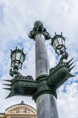 Opera National de Paris (Garnier Palace). Architectural details.