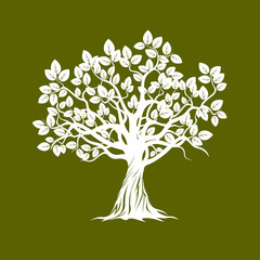 Vector Illustration of Tree.