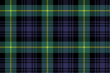 gordon tartan fabric texture seamless pattern Wall mural