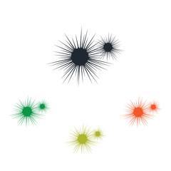 Sea urchin icon
