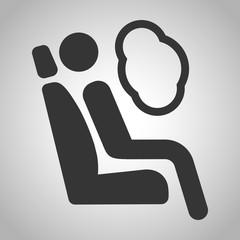 Crash test icon
