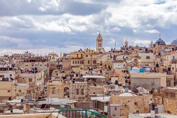 Jerusalem Old City Roofs