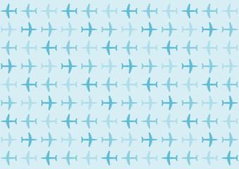 飛行機 イラスト 背景