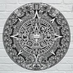 Art urbain, Calendrier aztèque