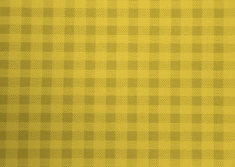 yellow picnic tablecloth for background