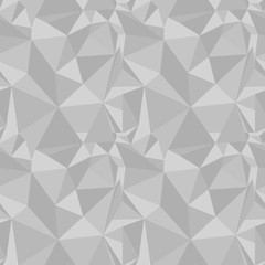 gray polygon seamless pattern