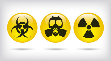 Biohazard, Gas mask and nuclear