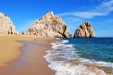 Lovers Beach. Cabo San Lucas, Baja California Sur, Mexico.