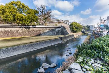 Wall Kumamoto Castle