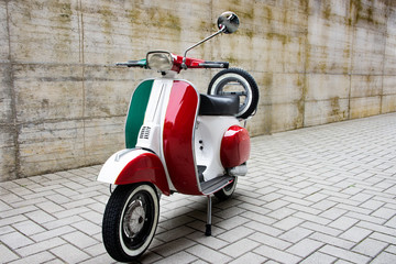 Photo Blinds Scooter Tricolore