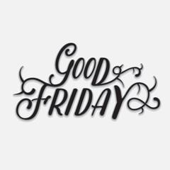 Good Friday, Vector Illustration