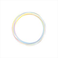brush circle colorful