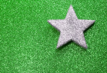 big star in brilliant background