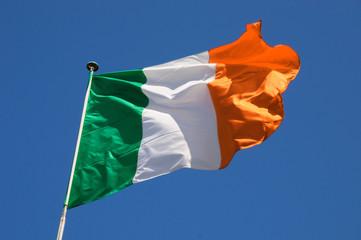 Wall Mural - Fluttering Irish Flag
