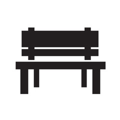 Bench Icon illustration design
