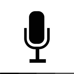 Microphone Icon Illustration design