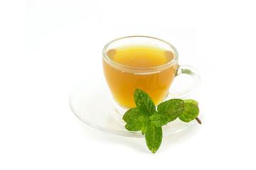 Tazza di tè alla menta