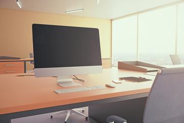 Computer display blank