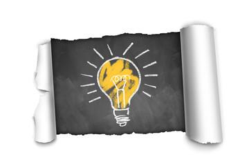 Durchbruch mit einer Idee