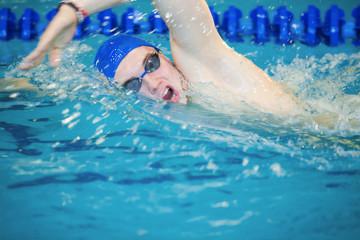 fast swimmer