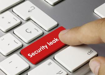 Security leak
