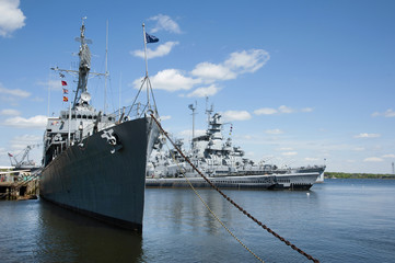 Battleship Cove Outdoor Naval Museum