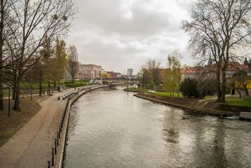 Bydgoszcz, Polska, Europa, Mill Island