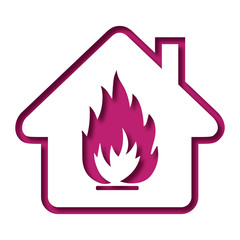 Logo sécurité incendie.