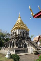 Chiang Man Temple , Chiang Mai, Thailand