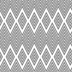 seamless geometric pattern, diamond, zigzag