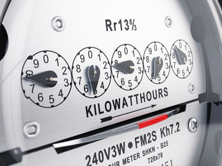 Kilowatt hour electric meter, power supply meter
