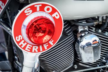 sheriff signalling disk