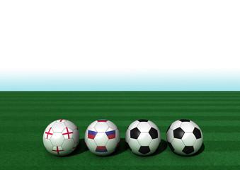 EM 2016 Gruppe B England - Russland