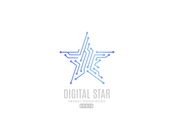 Digital star.