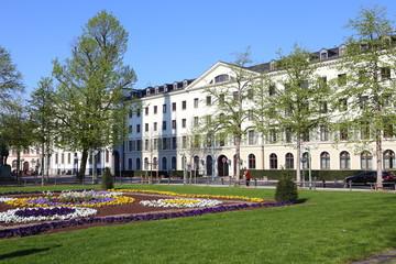 Wiesbaden, Hessischer Landtag am Schloßplatz (April 2016)