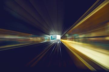 Dubai metro, abstract.