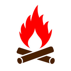 Firewood vector icon