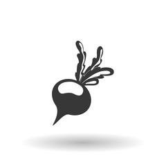 Vegetable design over white background, vector illustration