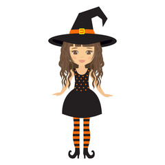 witch girl curly