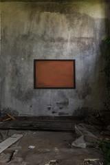 Cornice in cantiere abbandonato
