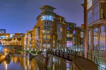 Photo sur Plexiglas Canal Amazing view of the canals in Birmingham