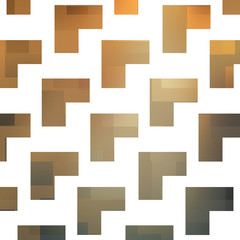 Abstract Background Design With Geometric Pattern