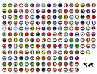 Flaggenicons- Welt