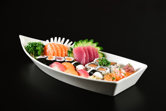 Japanese food boat