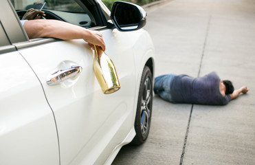 Drinking alcohol while driving is dangerous